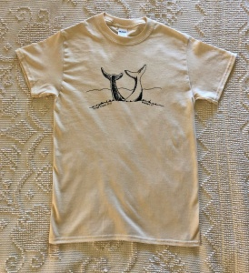 Natural Whale Tee