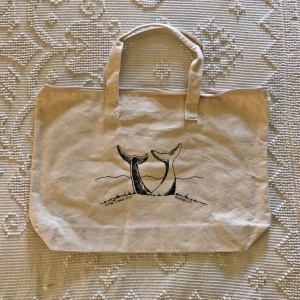 Whale Dance Tote Bag